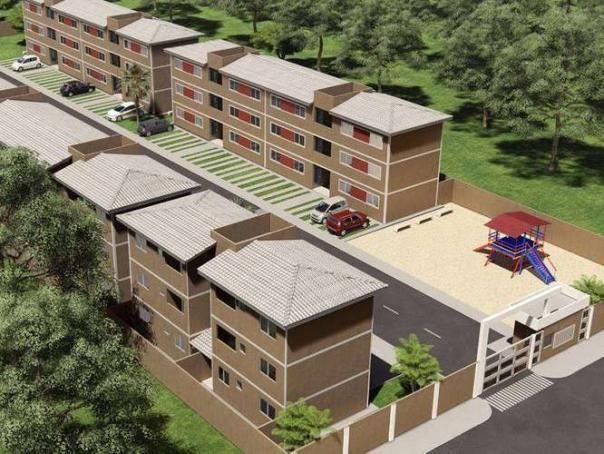 Residencial Alto Maravilha IX - 45 a 47m² - 2 quartos - Luziânia - GO - Foto 14