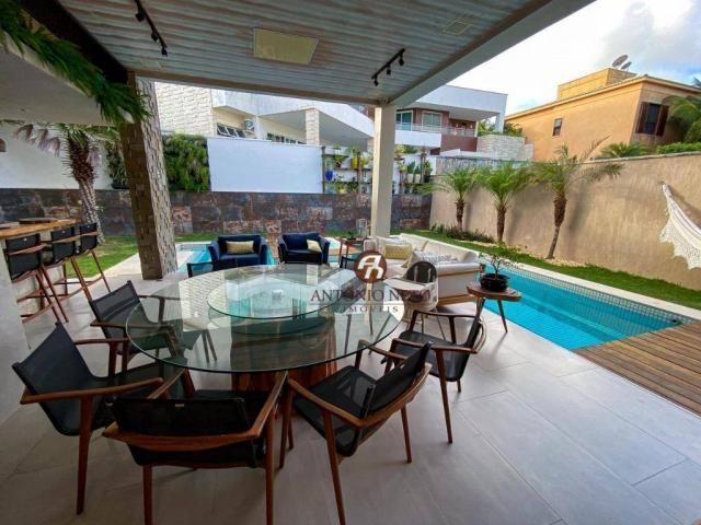 Casa à venda, 406 m² por R$ 3.600.000,00 - Eusébio - Eusébio/CE - Foto 3