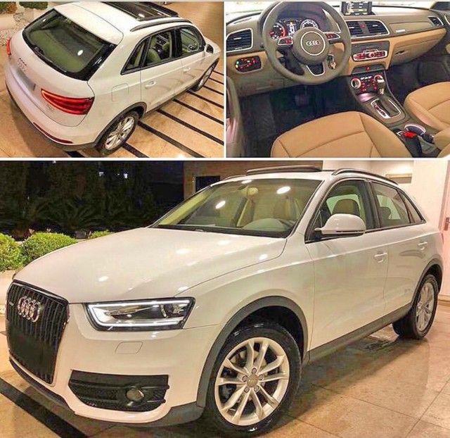 Audi Q3 Branca + Teto + Banco Novíssima