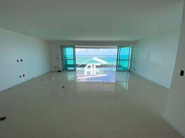 Cobertura nova com Vista total e ampla na beira mar da praia de guaxuma - Foto 3