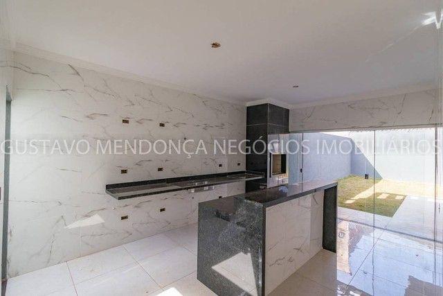 Belíssima casa térrea nova no bairro Rita Vieira 1-  Com duas suites - Foto 18