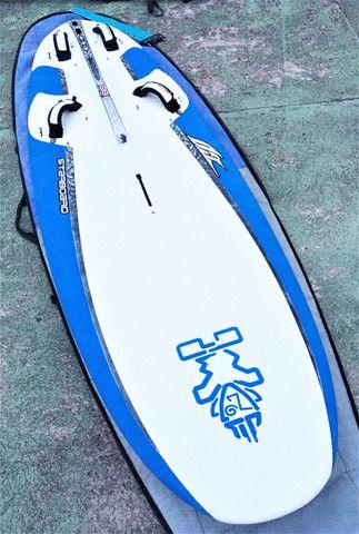 Prancha windsurf starboard completo mastro carbono vela Xo sail exocet
