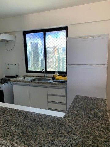 TG Alugo apartamento 2 quartos Mobiliado no Edf Portal da Praia, em Boa Viagem - Foto 3