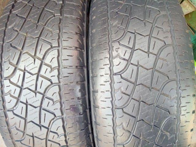 2-pneus 255/65/17 Pirelli scorpion - Foto 2