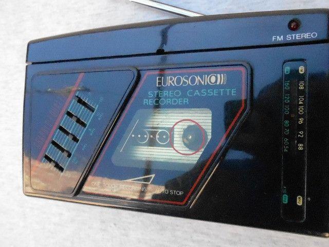 Walkman antigo eurosonic