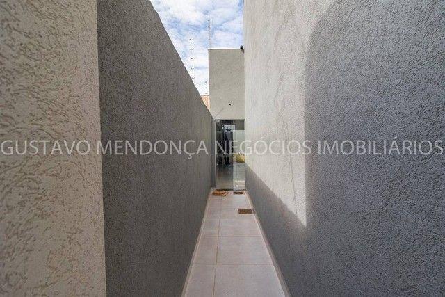 Belíssima casa térrea nova no bairro Rita Vieira 1-  Com duas suites - Foto 12