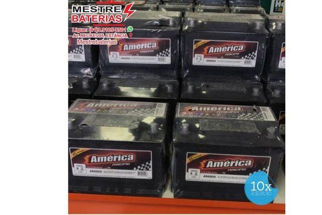 Bateria America linha heliar 60ah 12v - 15 meses de garantia