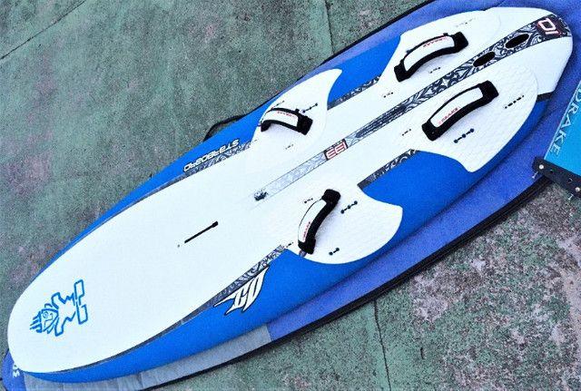 Prancha windsurf starboard completo mastro carbono vela Xo sail exocet - Foto 2