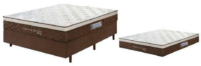 conjunto cama e base nova, a pronta entrega