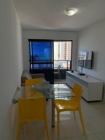 TG Alugo apartamento 2 quartos Mobiliado no Edf Portal da Praia, em Boa Viagem - Foto 2