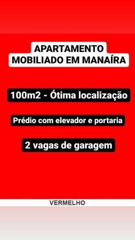 APARTAMENTO MOBILIADO EM MANAÍRA
