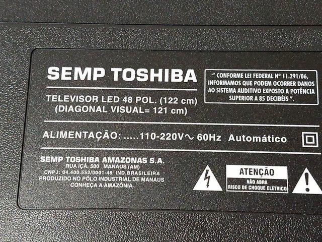 TV Semp Toshiba 48 polegadas smart TV - Foto 4