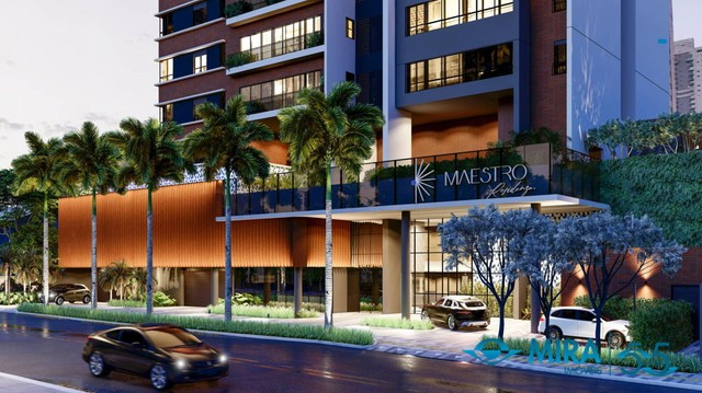 Apartamento com 2 quartos no Maestro Residenza - Bairro Setor Oeste em Goiânia