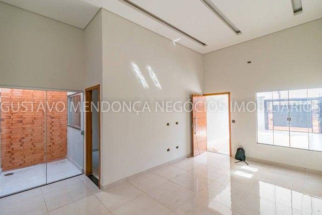 Belíssima casa térrea nova no bairro Rita Vieira 1-  Com duas suites - Foto 3
