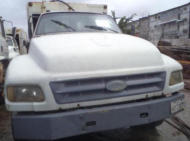 CAMINHÃO DE LIXO, FORD F 14000 1995