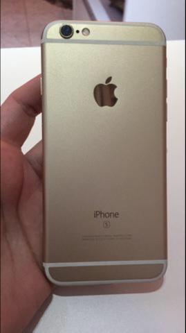 IPhone 6s 32gb Gold 4g anatel completo