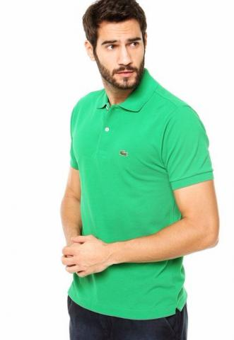 Camisa Polo Lacoste Read Verde