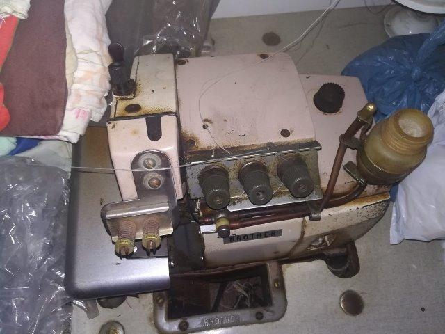 Maquina de tricô Industrial Elgin Brother , Maquina de costura overlock e Enrolador
