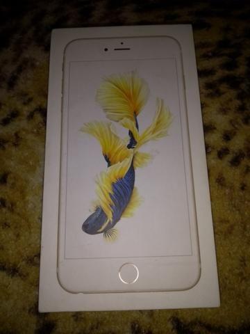Iphone 6s plus dourado
