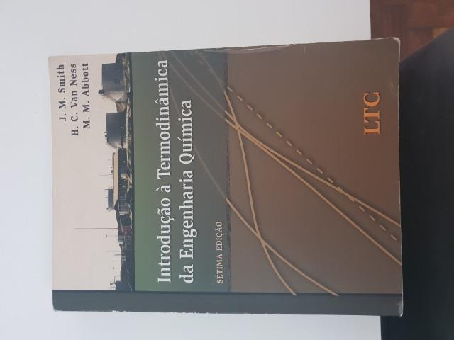 Introdução a Termodinâmica da Engenharia Química. Smith, Van Ness e Abbott