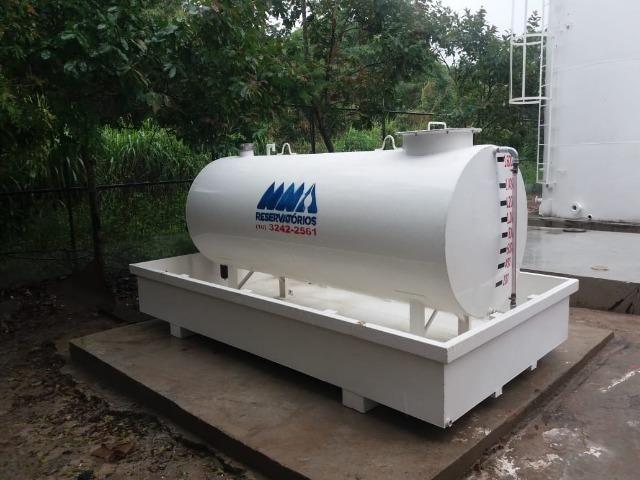 Fabricação de caixas d'água metálicas e tanques para combustíveis