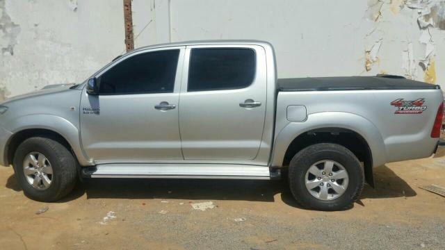 Hilux 2012 4x4 diesel cambio manual