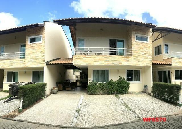 CA1322 Laguna Ville, casa em condomínio com 4 suítes, 3 vagas, área de lazer completa - Foto 3