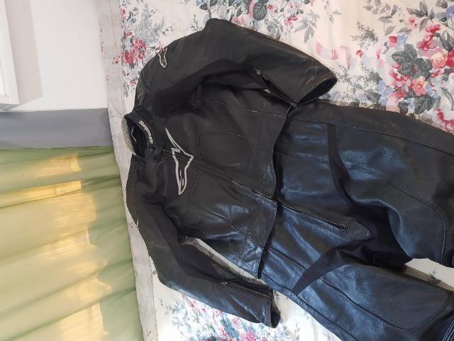 Macacão Alpinestar Octane Leather - Foto 2