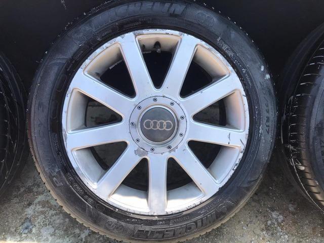 Jogo de rodas Aro 17 Audi RS4 Até 10x s/ juros - Foto 5