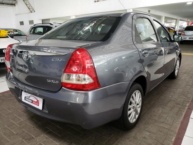 Etios sedan 1.5 XLS 2014 com couro - Foto 3