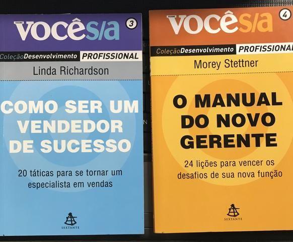 Coleção de livros VOCÊ S/A
