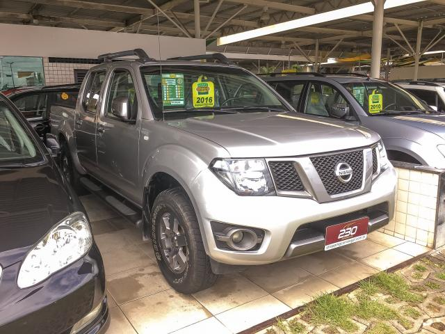 NISSAN FRONTIER 2016/2016 2.5 SV ATTACK 4X4 CD TURBO ELETRONIC DIESEL 4P AUTOMÁTICO