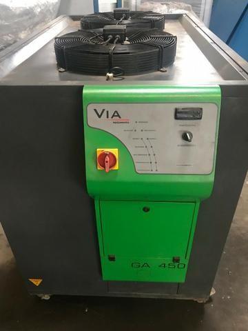 Unidade de água gelada Via de 45.000 kcal condensação à ar