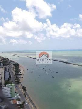Apartamento com 04 quartos, 03 suítes e lazer fantástico a beira mar de Olinda - Foto 4