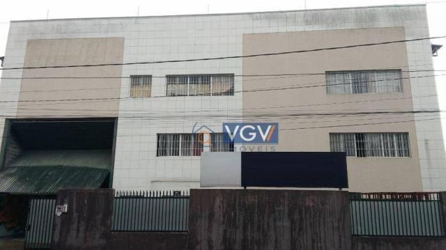Galpão para alugar, 749 m² por R$ 8.500,00/mês - Chácara do Solar I (Fazendinha) - Santana - Foto 2