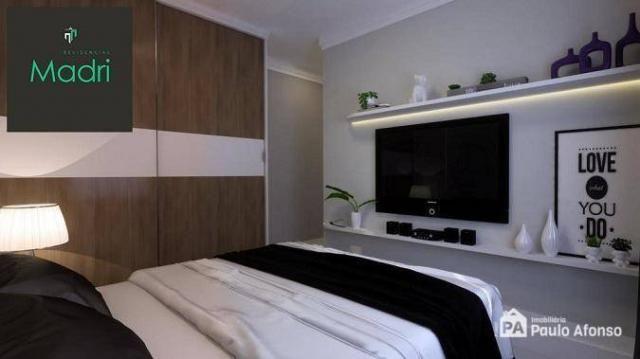 Apartamento com 2 dormitórios à venda, 65 m² por R$ 182.700,00 - Jardim das Azaléias - Poç - Foto 2
