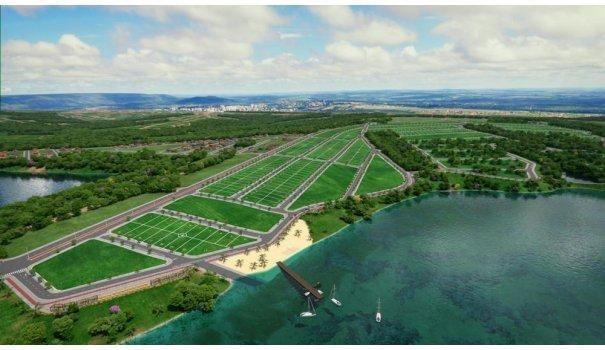 Lago Sul lotes parcelados as margens do Lago Corumbá em Caldas novas - Foto 7