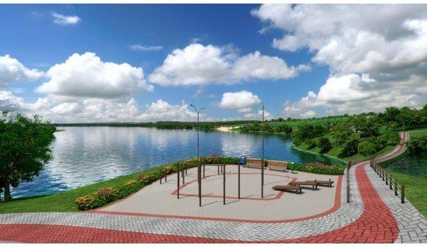 Lago Sul lotes parcelados as margens do Lago Corumbá em Caldas novas - Foto 5