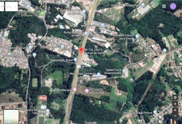 Terreno à venda, 54450 m² por R$ 10.000.000,00 - Tatuquara - Curitiba/PR - Foto 2