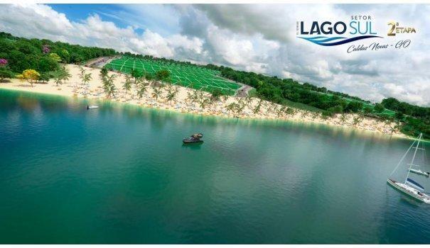 Lago Sul lotes parcelados as margens do Lago Corumbá em Caldas novas - Foto 10
