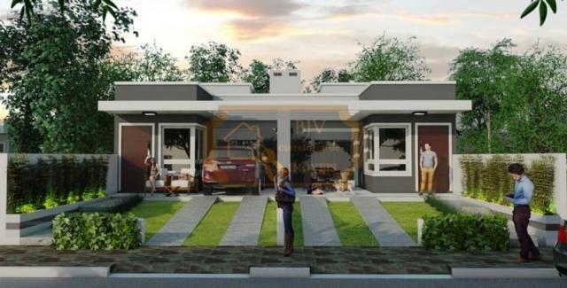Casa geminada , em bairro planejado 96 m² , 3 dorm , um suíte ,pátio . - Foto 2