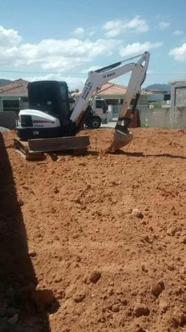 Bob Cat E50 mini escavadeira - Foto 3