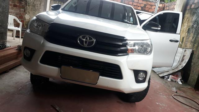 Hilux 2.8 manual 4 x 4 passo