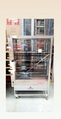 PR-6100 Assador de Carne e Frango Duplo 10 Espetos - Progás