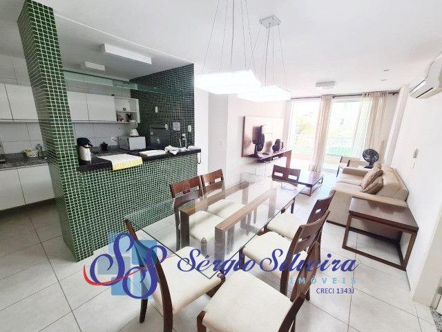 Apartamento no Paraíso das Dunas no Porto das Dunas com 3 suítes