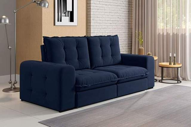 Sofa retratil e reclinavel fofissimo KAL717 - Foto 4
