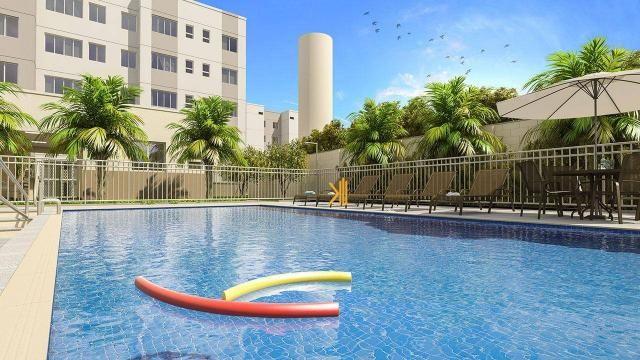 Apartamento com 2 dormitórios sendo 1 suíte reversível à venda, 42 m² por R$ 143.635 - Tam