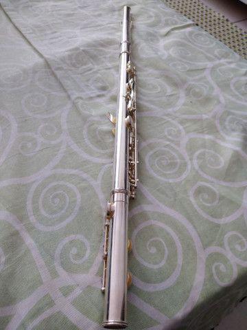 Flauta transversal Conservada pouquíssimo usada - Foto 4
