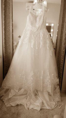 Vestido de Noiva Completo - Foto 3