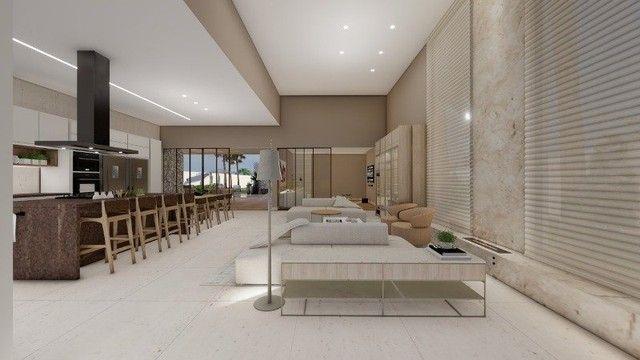 Casa de condomínio Linear 338M² Lote 1.000M² 4 suítes e tudo Mais. Alphaville Lagoa Ingles - Foto 3